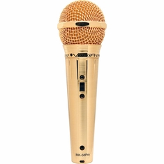 VOCOPRO Mark-58pro Gold Finish Professional Vocal Microphone