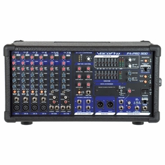 VOCOPRO PA-PRO-900 Professional P.A. Mixer (Basic model does not include UHF mics,Modules, or SDR-3 Recorder)