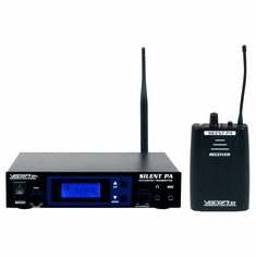 VOCOPRO SilentPA-SOLO 16CH UHF WIRELESS AUDIO BROADCAST SYSTEM (Stationary Transmitter with one bodypack receiver)