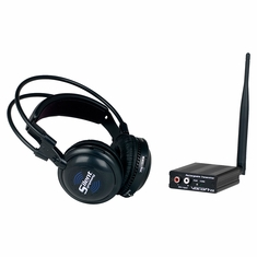 VOCOPRO SilentSymphony-Solo Wireless Audio broadcast and headphone system (1 transmitter and 1 headphone)