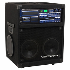 VOCOPRO TWISTER-7000-REC Professional Variable Speed Digital Key Control CD/CD+G System with SD Recorder
