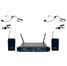 VOCOPRO UDH-DUAL-B4 PRO UHF/DIGITAL HYBRID WIRELESS BODYPACK (919.0 924.2)