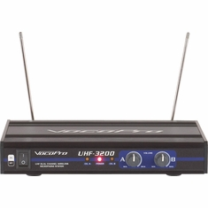 VOCOPRO UHF-3200-5 (Set 5) M,N UHF-Dual Channel Wireless Microphone System