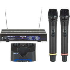 VOCOPRO UHF-3205-6 (Set 6) O,P UHF-Dual Channel Rechargeable Wireless Microphone System