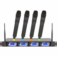 VOCOPRO UHF-5900 UHF-PLL Wireless Microphone System with frequency Scan