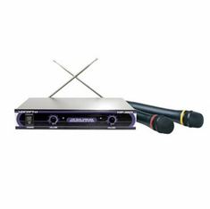VOCOPRO VHF-3005 (SET 3) Dual Channel VHF Wireless Microphone System