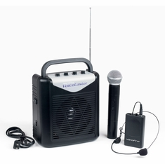 VOCOPRO VOICECASTER-1 Rechargeable Portable PA System with Wireless Mic
