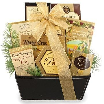 A Taste of Elegance Holiday Gift Basket