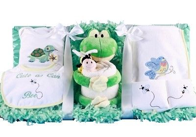 As Cute As Can Bee Baby Layette Gift Set