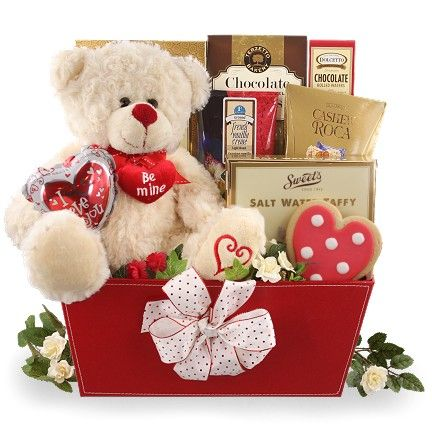 Be Mine Valentine Gift Basket - SOLD OUT