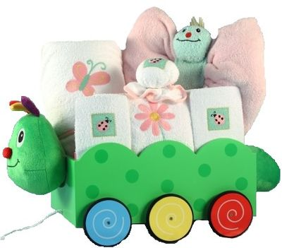 Caterpillar Wagon Gift Set (Boy or Girl)