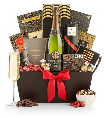 Champagne and Chocolate Pairing Gift Basket - SOLD OUT