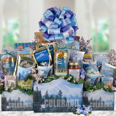 Colorado Mountain Peaks Gift Tower-SOLD OUT