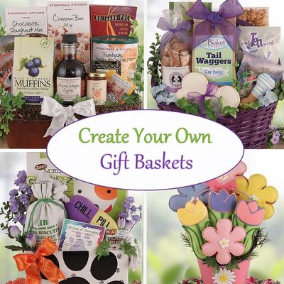 The Possibilities are Endless with Create-Your-Own Gift Baskets from Bisket Baskets