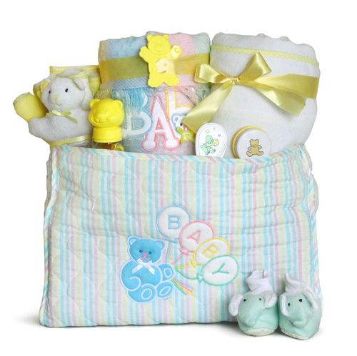 Deluxe Diaper Tote Baby Gift Sets (Boy, Girl, Neutral)