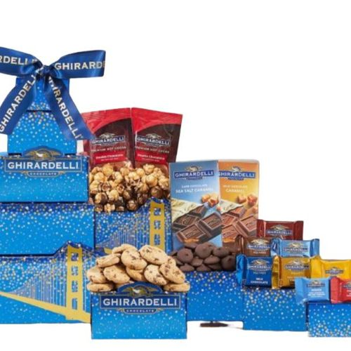 Deluxe Ghirardelli Gift Tower - SOLD OUT