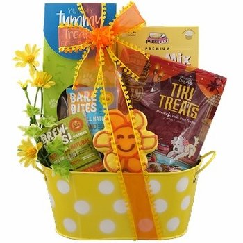 Dog Daze Dog Gift Basket