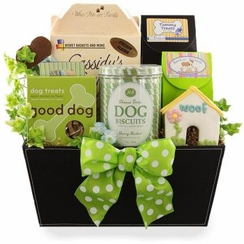 Dog Gift Baskets for Your Pup's Special Day