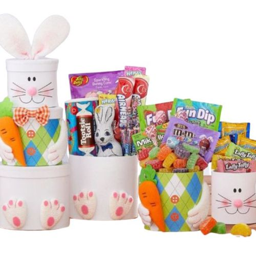 Easter Bunny Gift Tower - SOLD OUT
