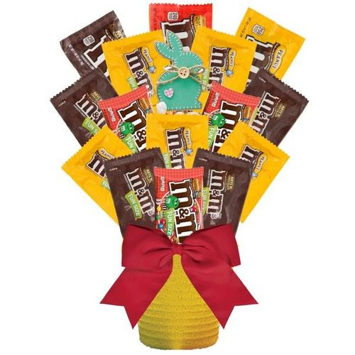 Easter M&M's Candy Bouquet