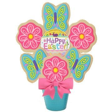 Easter Thoughts Cookie Bouquet