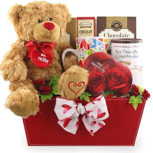 From the Heart Valentine Gift Basket-SOLD OUT