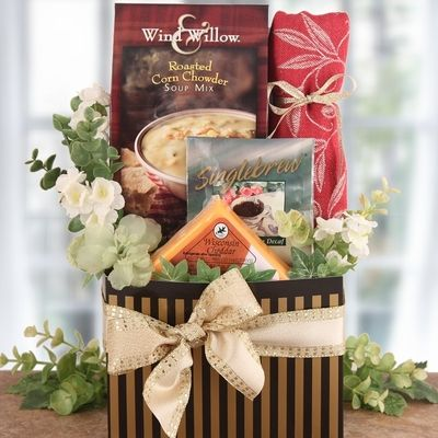 Give the Gift of a Meal with our Holiday Food Gift Baskets