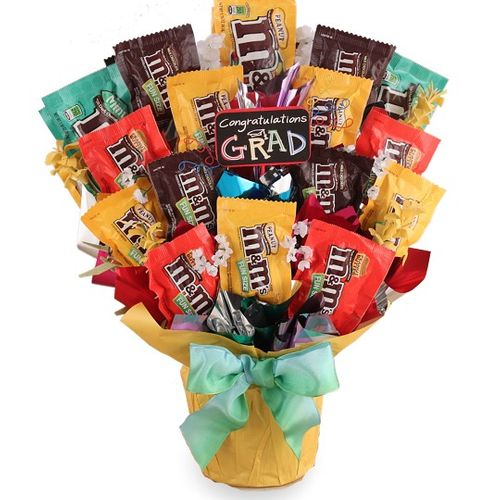 Graduation M&M's Candy Bouquet