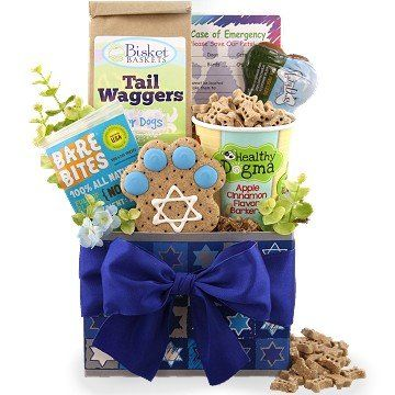 Hanukkah Happy Tails Dog Gift