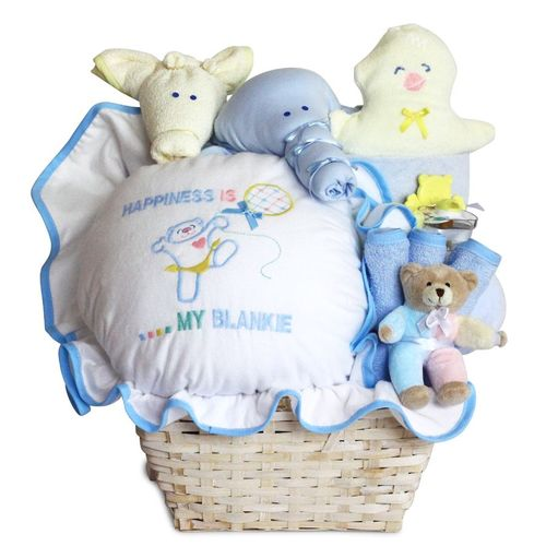 Happiness Is a Baby Gift Basket (for Boy & Girl)