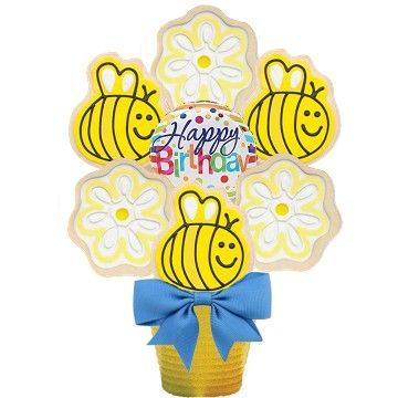 Happy Bee-Day Cookie Bouquet - SOLD OUT