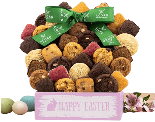 Happy Easter Cookie, Brownie & Cake Gift