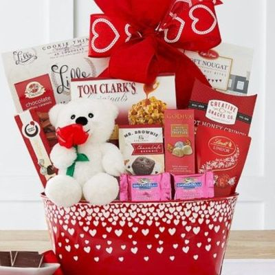 Happy Valentine's Day Gift Basket - SOLD OUT