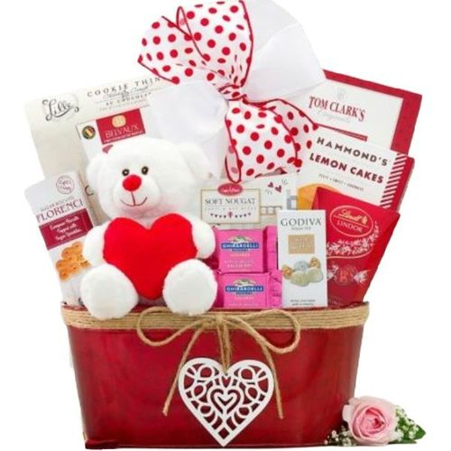 Happy Valentine's Day Gift Basket - AVAILABLE 2/4/21