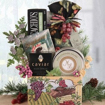 Holiday Gift Baskets for Those Who Love Wine