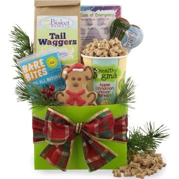 Holiday Happy Tails Dog Gift