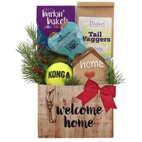 Home for the Holidays Dog Gift