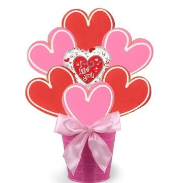 Who's Your Valentine Cookie Bouquet-SOLD OUT