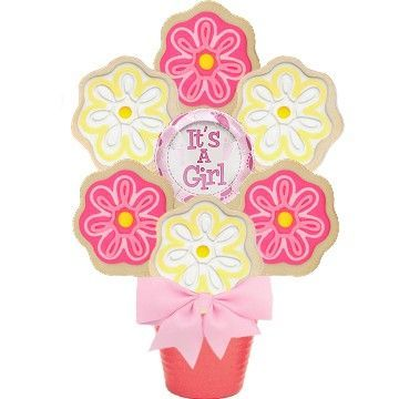 It's a Girl Cookie Bouquet - SOLD OUT