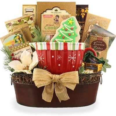 Keepsake Christmas Gift Basket
