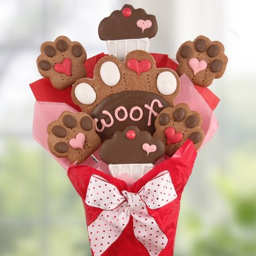Loving Paws Dog Biscuit Bouquet-SOLD OUT