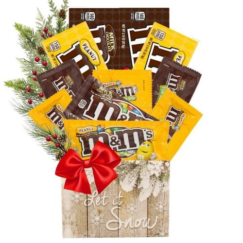 M&M's Candy Christmas Gift
