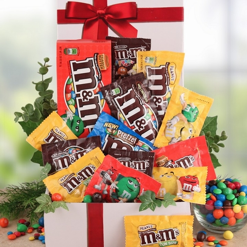 M&M's Christmas Care Package