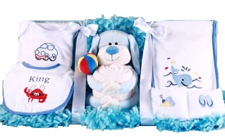 Puppy Pal Layette Baby Boy Gift