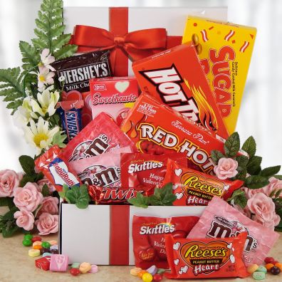 Red Hot Valentine Care Package