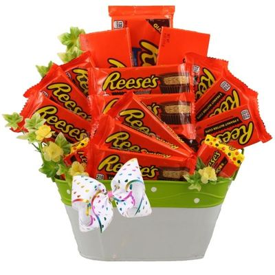 Reese's Valentine's Gift Basket
