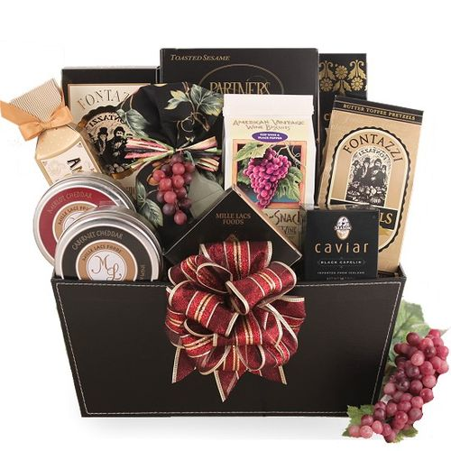 Refined Elegance Holiday Wine Themed Gift