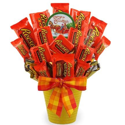 Reindeer Reese's Candy Bouquet