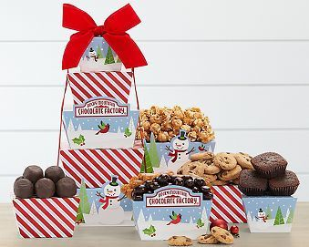 Rocky Mountain Chocolate Factory Tower Gift