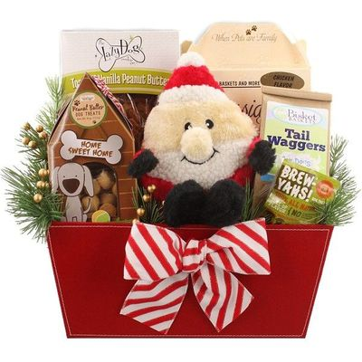 Santa Paws Christmas Dog Gift